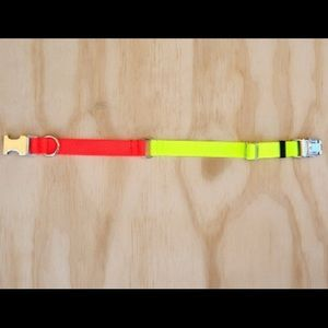 Two tone nylon collar - XS